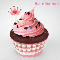 Mini Cake Musical Box Educational and Musical Toy Eco-friendly Music Box foy Kid Gift
