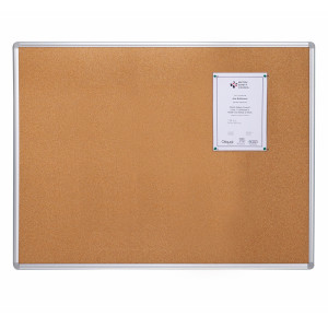 School Aluminum/Wooden Frame Pin Bulletin Cork Board Notice Board