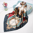 digital printed cheap scarf custom printed polyester scarf square hijab