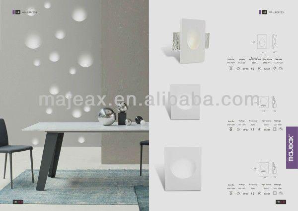 Full Length Wall Mirror With Light Illuminated Gypsum 1w Led ...
