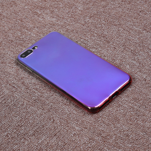 Luxury Ultra Slim Aurora Gradient Color Transparent Soft TPU Anti Scratch Phone Case Cover for ASUS ZENFONE 4 MAX /ZC520KL