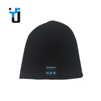 Custom Fashional Winter Wireless Bluetooth Headphone Knitted Beanie Hat