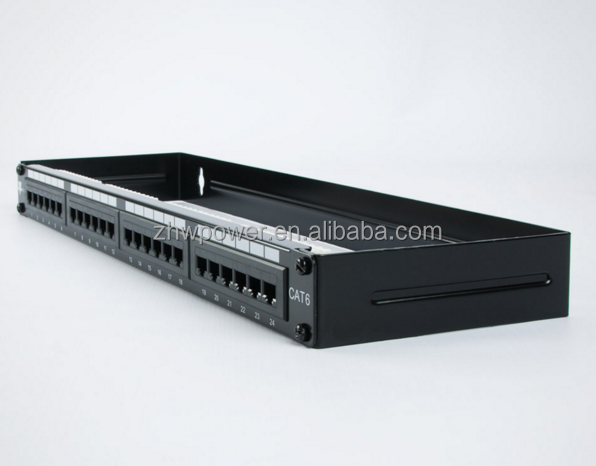 3M cat6 24 port patch panel , 3M VOL-PPCB-F24K 24 port patch panel