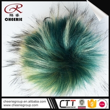 High Quality ODM Faux real poms fur pompom balls pom