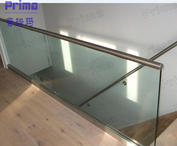 Aluminum U Channel Glass Railing Systems For Decks