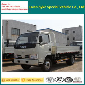 Dongfeng Light Truck Chassis 3300mm Wheelbase 2-3t Capacity Cargo Truck