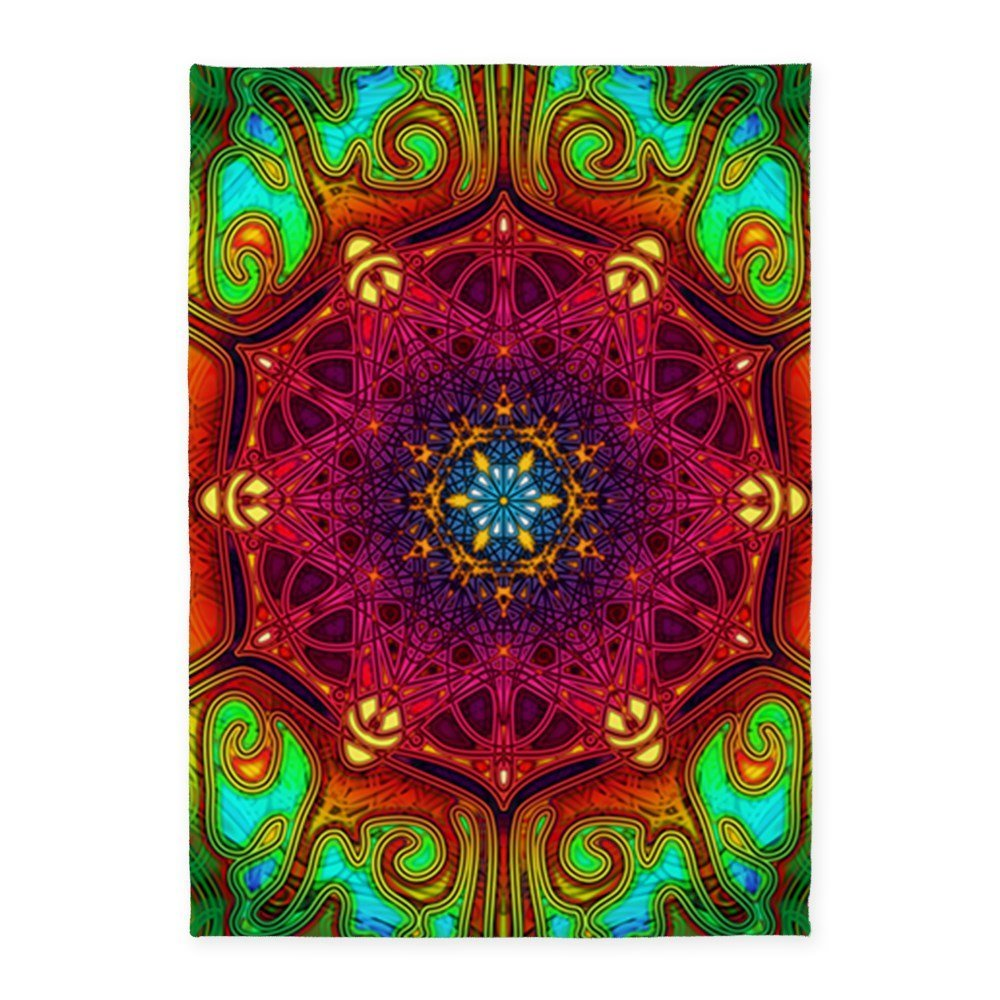 Buy Cafepress Mandala Psychedelic Excursion Art P 5x7area Rug