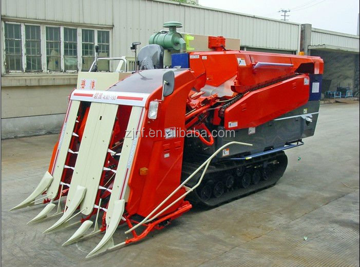China Rice And Wheat Harvester Mini Grain Harvester Combine For ...