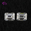 Wholesale 1.0 Carat White 5X7 Mm Emerald Cut Loose Moissanite For Sale