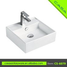 Wholesale art ceramic white bathroom washing outdoor garden sink