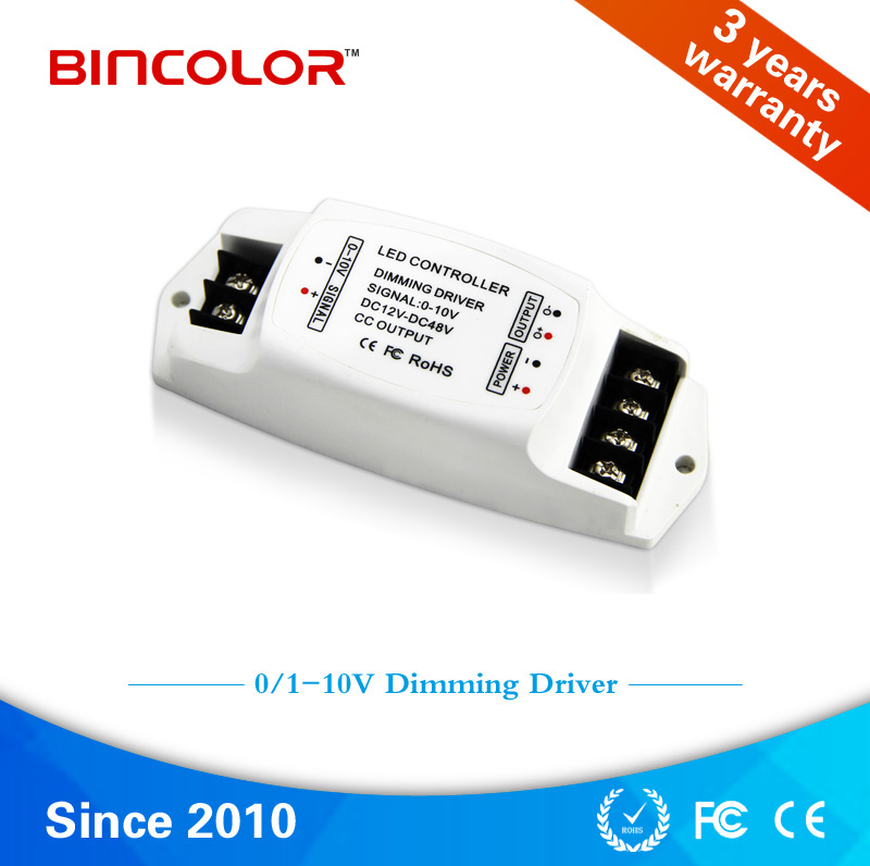Constant Current DC12V 24V 48V 0/1-10v Led Dimming Driver