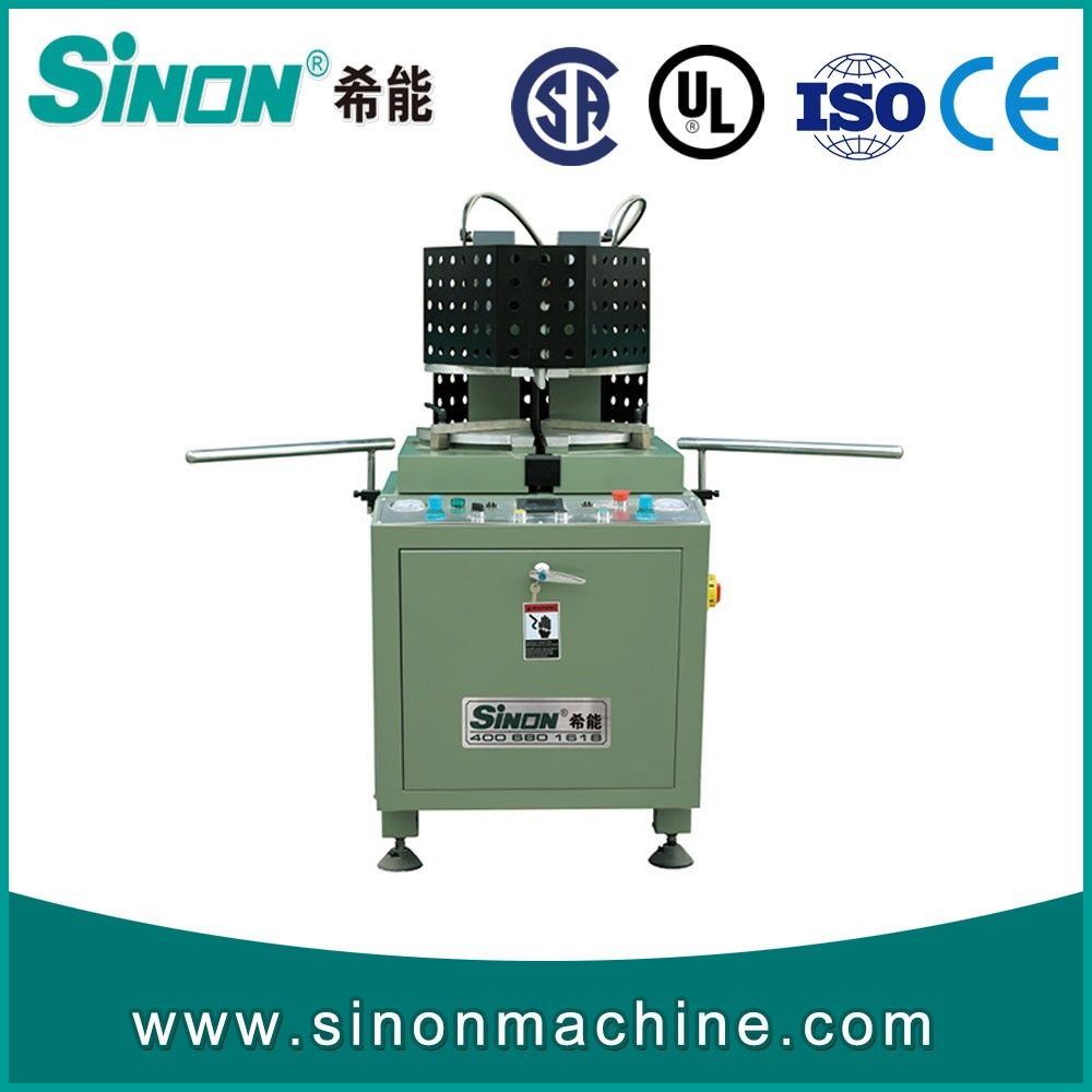 UPVC PVC welder single head corner window welding machine