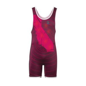 Full Sublimation Boys Mesh Athletic Team Wrestling Singlets