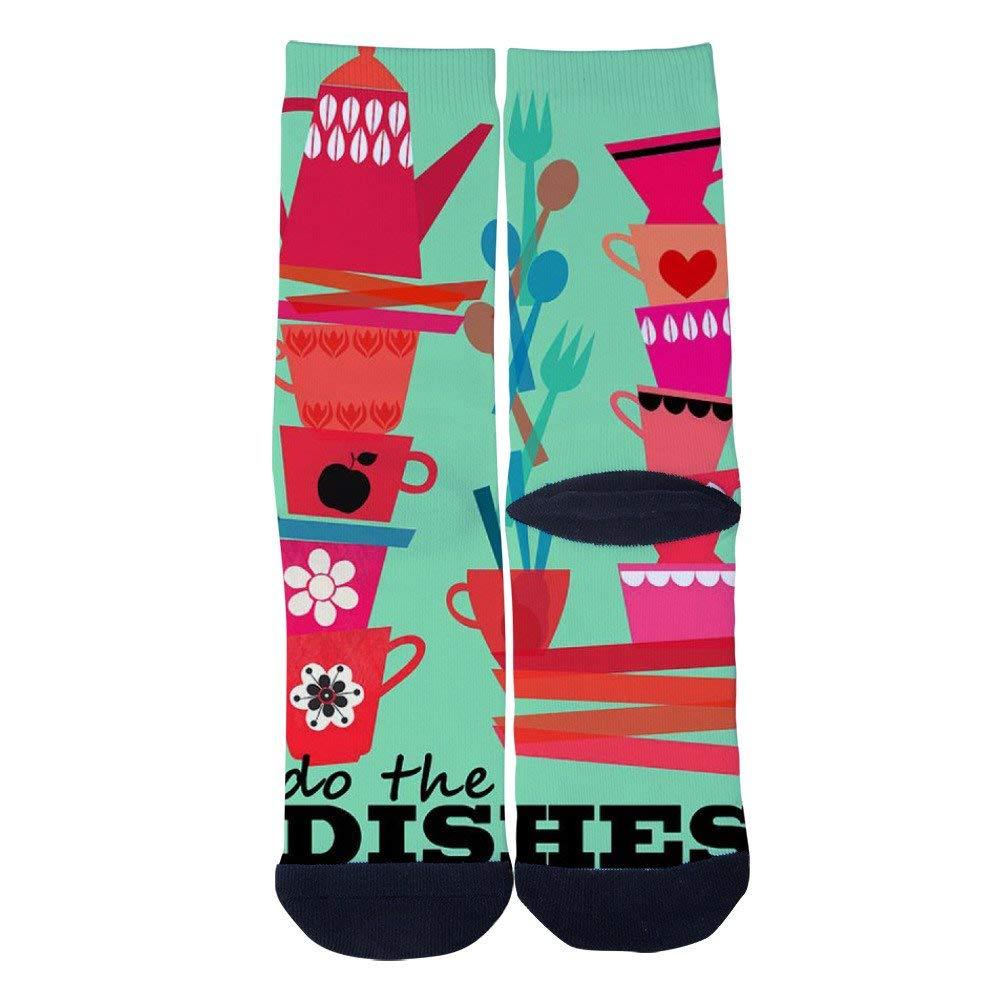 Mens Womens Cute Monkey Baby Socks Novelty Casual Custom Socks Hip Hop Cartoon Elite Crew Socks