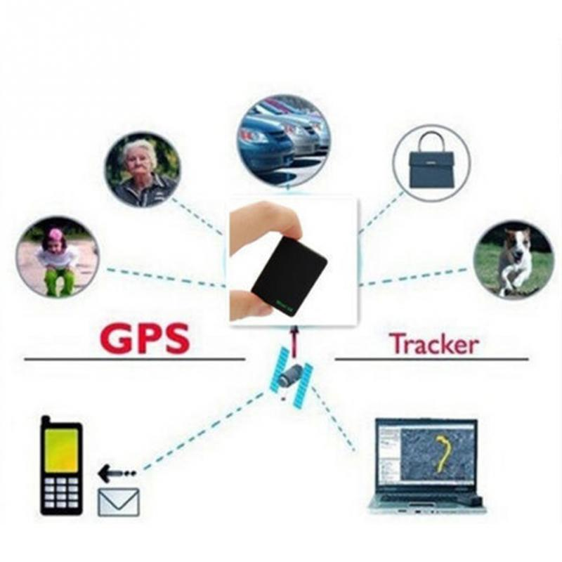 Cute Black Mini Global Locator Real Time Car Kids Pets Tracker GSM/GPRS/GPS Tracking Device High Quality