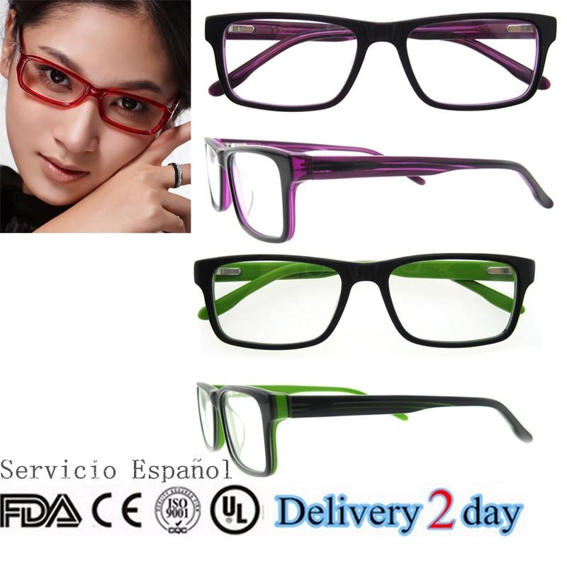 2015 últimos modelos de marcos ópticos de gafas de acetato monturas ...