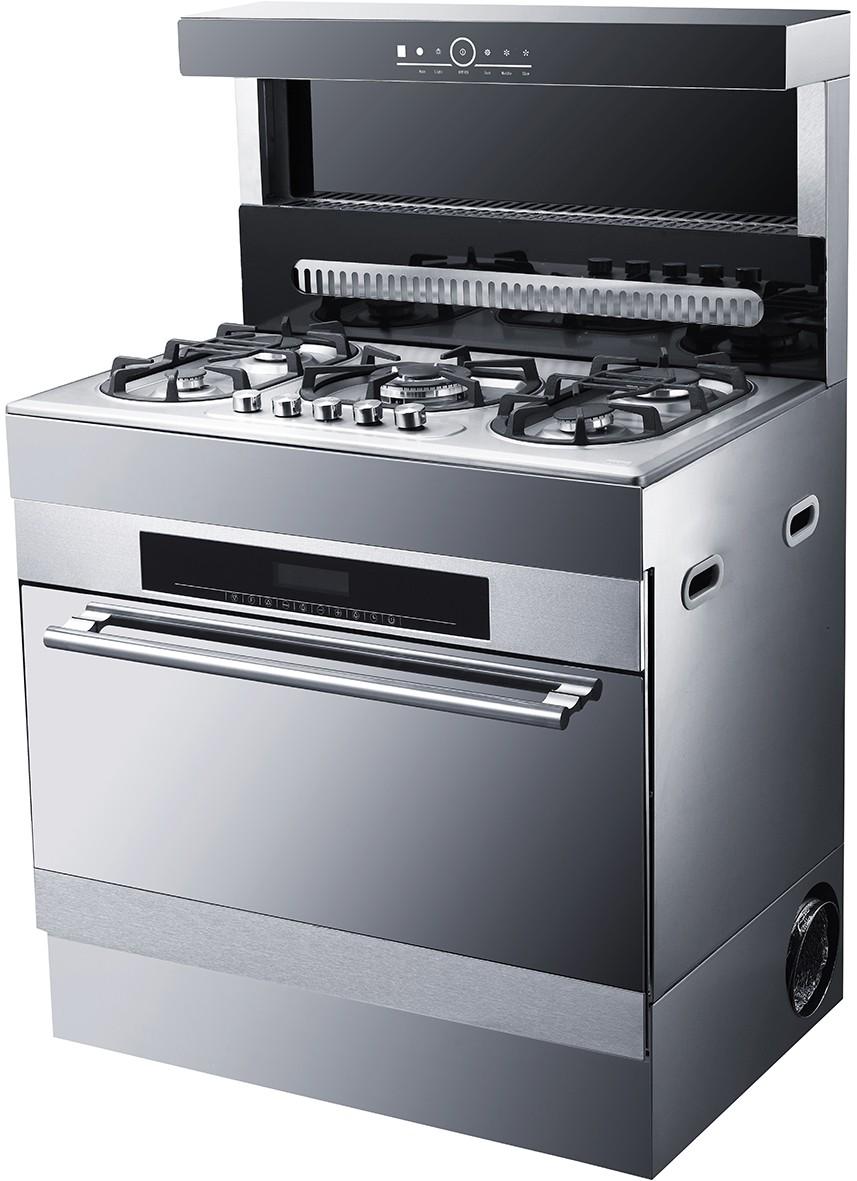 90 cm larghezza misto freestanding stufa a gas e forno - Larghezza cucina ...