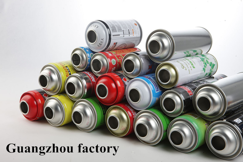 Aerosol Can With Plain or Printing Design