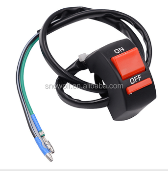 Motorcycle 1inch Handlebar Control Switches With Wiring Harness - Buy on