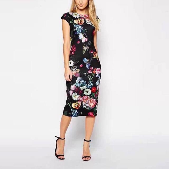 floral printed dresses - photo #34