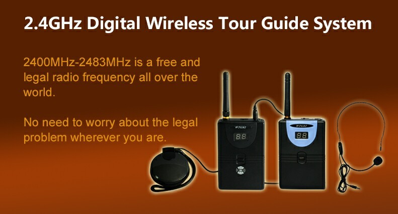 Portable Wireless Audio Guide Sistem