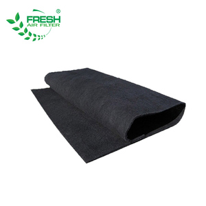 Activated carbon fiber air duct cleaning activated charcoal fabric non-woven filter carbon filter cloth