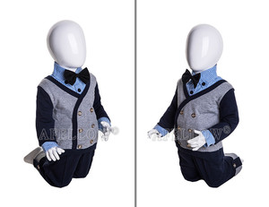fashion and selling well egg head babies kids doll mannequin