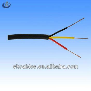 Iec Rvv 3*0.75mm2 Multi Stranded Bare Copper Conductor Material Pvc ...