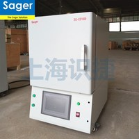 1700 C high temperature lab used electric heating muffle furnace for metal annealing or porcelain/ceramics sintering