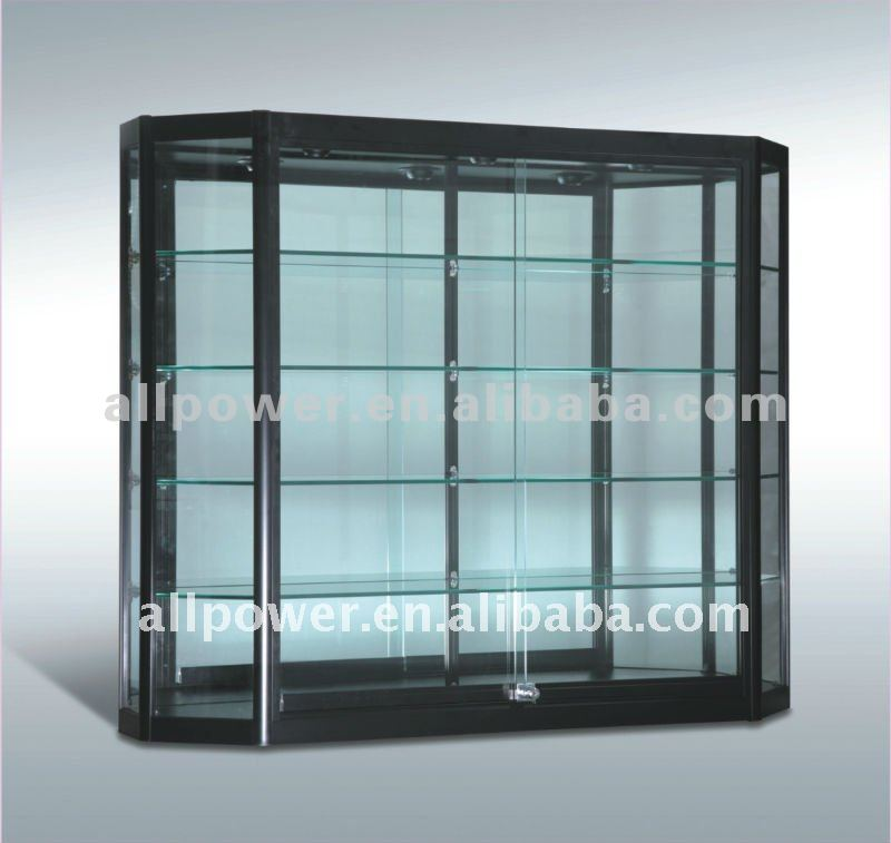 Wall Mount Glass Display Cabinets And Glass Vitrine (wc12 12tra))   Buy Wall  Mount Glass Display Cabinets,Glass Vitrine,Perfume Display Cabinets Product  On ...