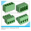 UL approved screwless/pluggable/rising type 3.81mm PCB Terminal Block
