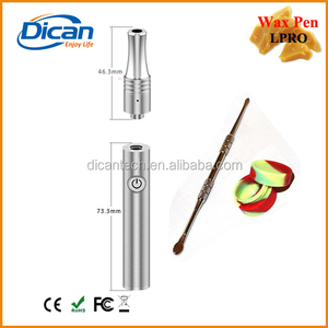 Wholesale stainless steel empty wax cartridge vaporizer pen