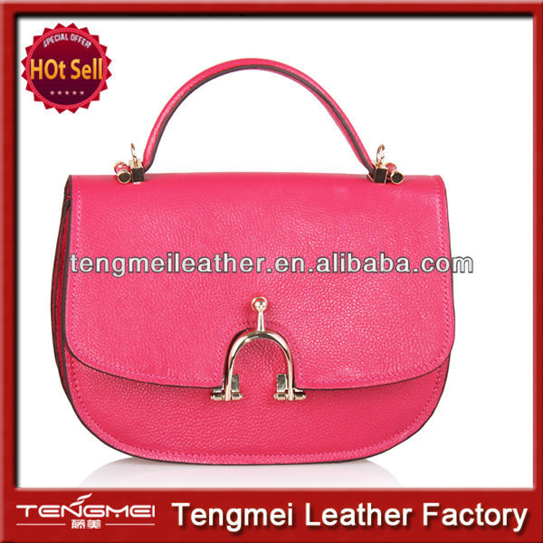 2014 wholesale leather handbags,fashionable and candy colour tote bags
