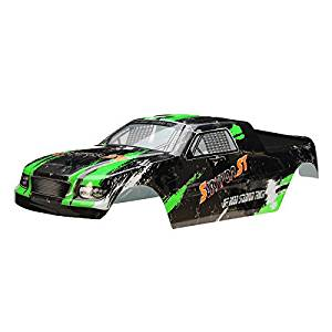 New HBX 1/12 12685 Truggy Body Shell Green SURVIVOR ST Car Parts By KTOY