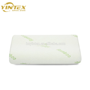 OEM Bamboo Shredded Memory Foam Neck Pillow Bamboo Fiber Cover Shredded Memory Pillows In Stock