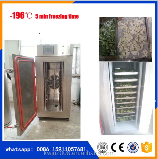 small iqf freezer for beans