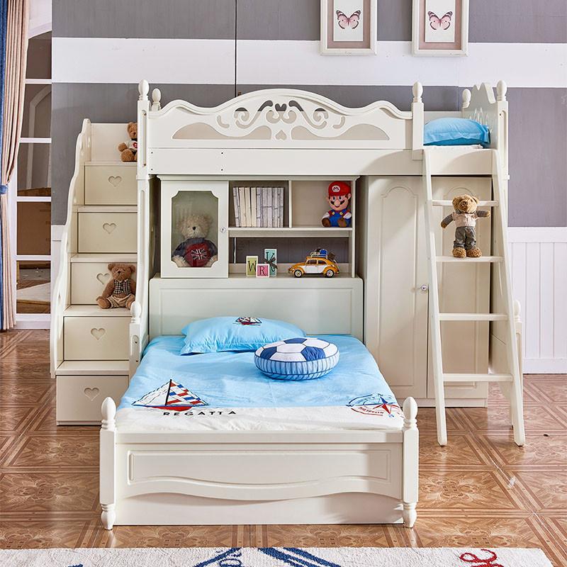 Kids Bedroom Furniture Set Children Bunk Bed With Study Desk - Buy Kids  Bunk Bed,Kids Bedroom Furniture,Children Bunk Bed Product on Alibaba.com