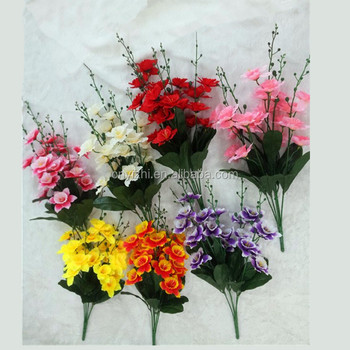 Wholesale Artificial Flowers Artificial Coral Flowers Silk Flower