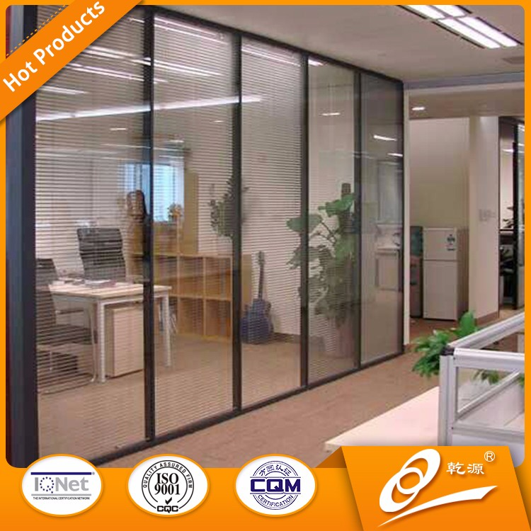 Glass Office Partition Wall Living Room Design Price