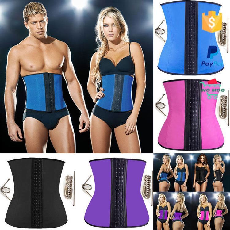 Slimming Latex Shaper Waist Training Corsets Wholesale Latex