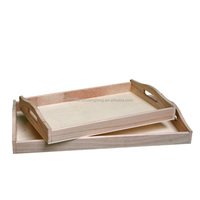 New collections tray wood, wood tray stand, unfinished wood tray