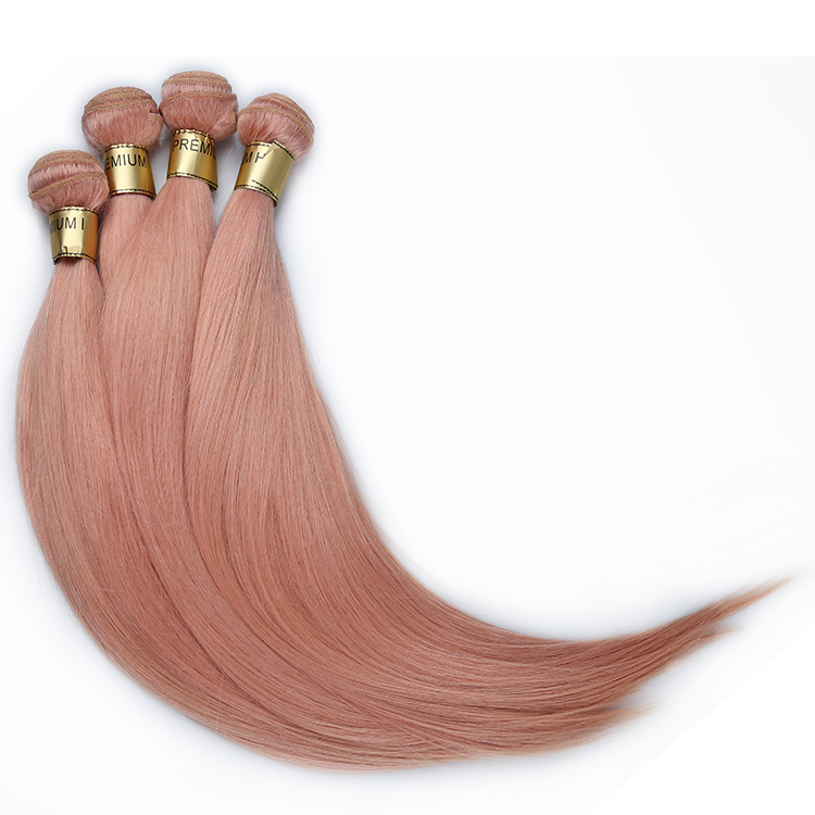 Buy one and get one free 8-30 inch unprocessed virgin hair 10A real brazilian pink human hair weave