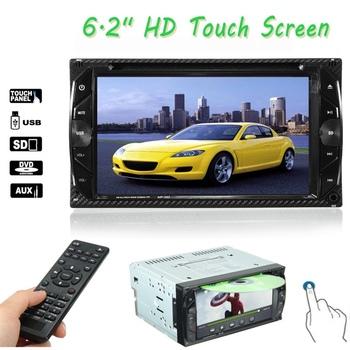 2din 6.2 Inch Car 7018b Bluetooth Fm Radio Audio Aux Touch Screen ...