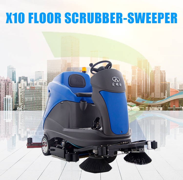 Factory Instock Cheap Price Roots Floor Cleaning Scrubbing