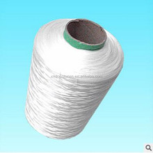 High tenacity 100% raw white polyester industrial filament yarn 1000D for weaving use