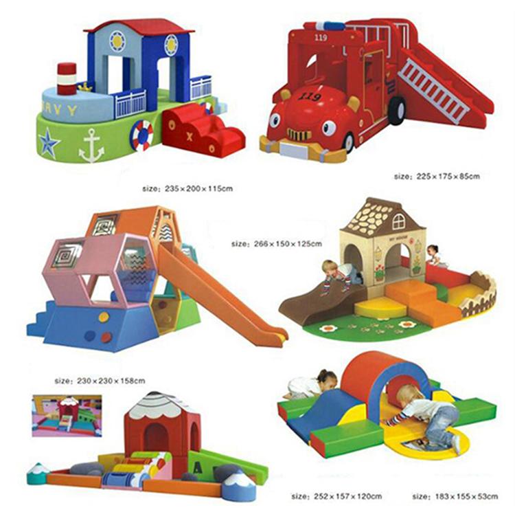 Personalizzati per bambini parco giochi al coperto sport a tema attrezzature da gioco morbido