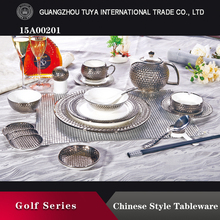 High quality ceramic tableware look elegant