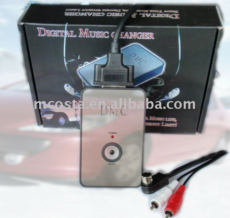 (DMC-9088) Mcosta Car Stereo mp3 Adapter USB/SD/Aux MP3 Interface(CE approval)