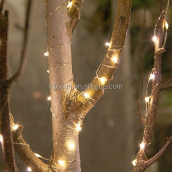 Utra Thin Battery Operated Micro Mini Led Copper Wire Firefly String Lights