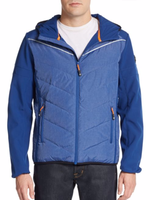 Sporty jacket warmed with down insulation Down Jacket Men Wholesale For Winter Apparel